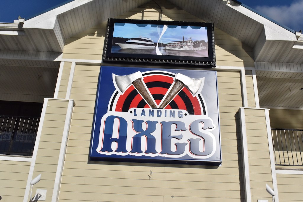 Axe-throwing-at-the-branson-landing-professional-dart-venue-things-to-do-in-Branson-wedames